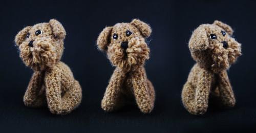 amigurumi, dog, brussels griffon, griffon bruxellois, briuselio grifonas, šuo