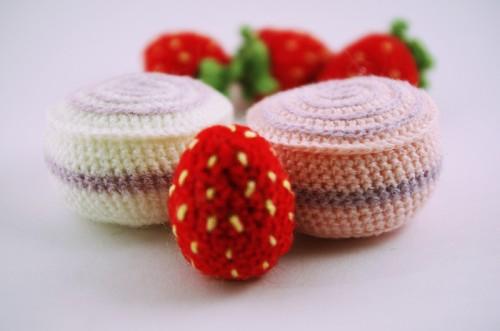 amigurumi, marshmallows, zefyrai, dessert, desertas, sweets