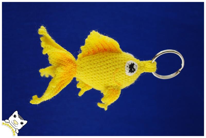 Fantail Goldfish Crochet Pattern • Kerri's Crochet | 536x800