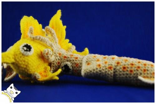 amigurumi, crochet, goldfish, squid, keychain, kalmaras, žuvis, pakabukas